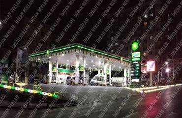 Benzin İstasyonu Tabelası