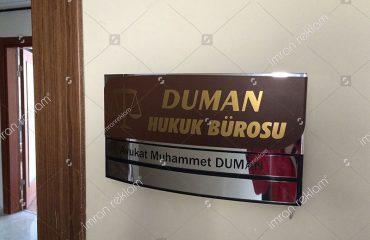 Kapı İsimlik Tabelası