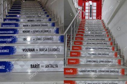 Merdiven Üzeri Giydirme