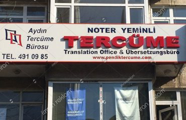 Tercüme Bürosu Tabela
